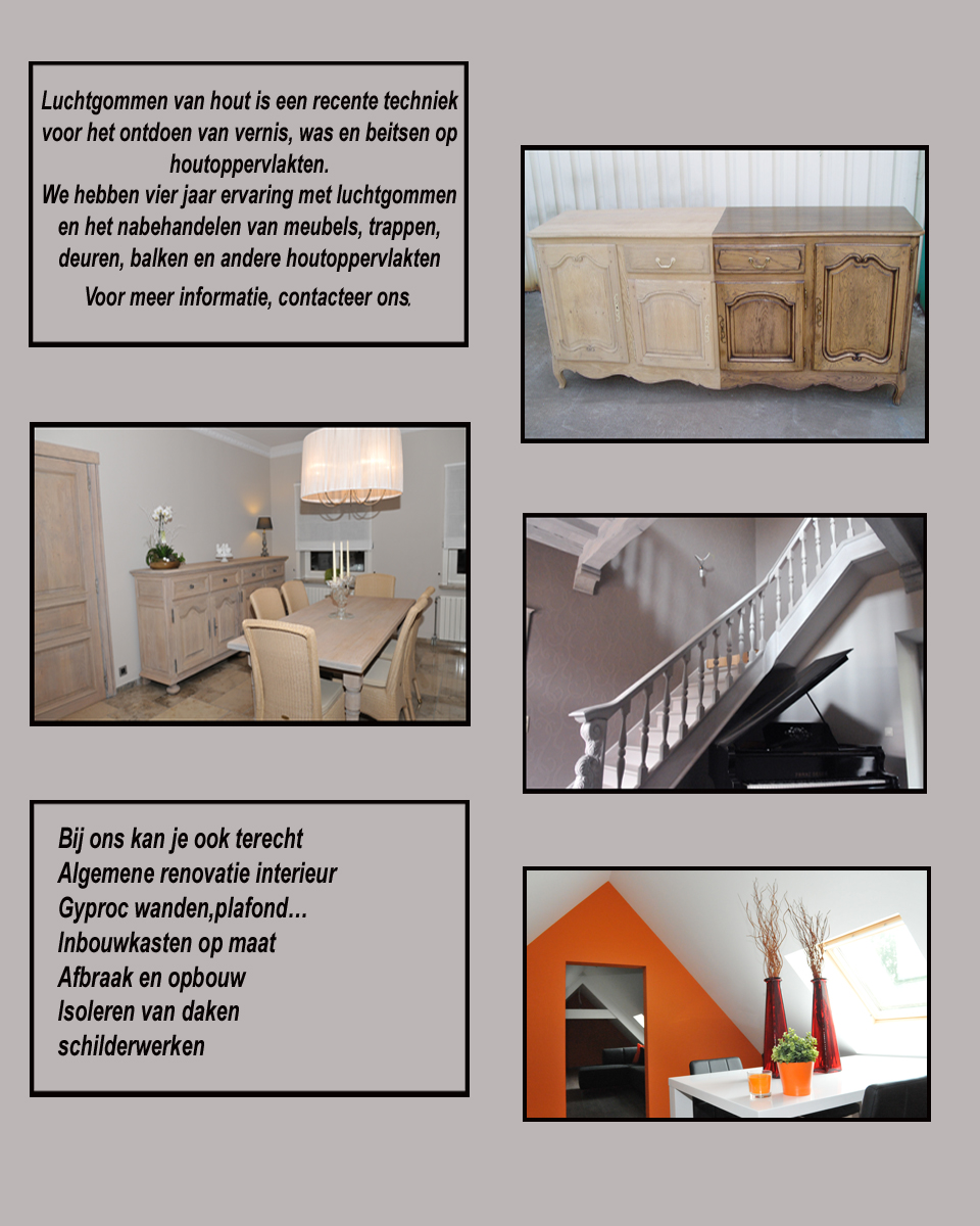 renovatie interieur herzele